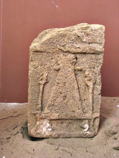 Punic stele from the tophet.